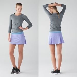 Lululemon Pace Rival Skirt Sz 4 Tall